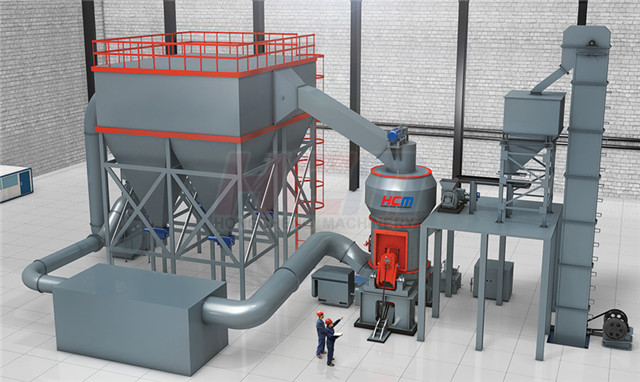 HLM Vertical Grinding Mill Structure